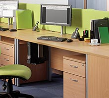 Maestro 25 SL H Frame Desks