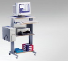 Mobile Computer Desks and Trolleys