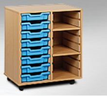 Tray Shelf Storage Units