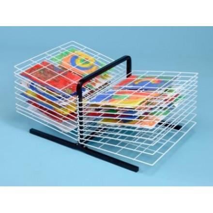 20 Shelf Table Top Art Drying Rack