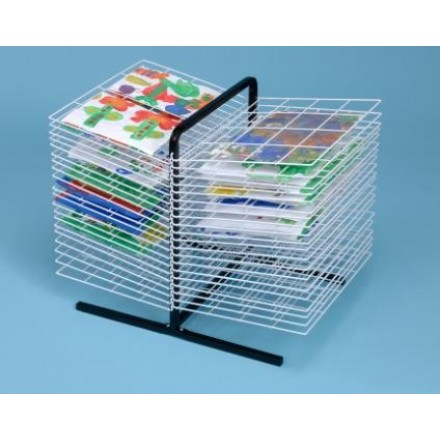 40 Shelf Table Top Art Drying Rack