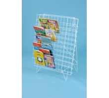 Single Sided Floor Book Rack