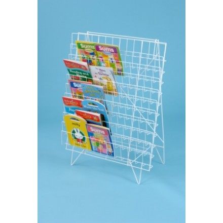 Single Sided Floor Book Rack