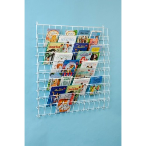 Square Wall Book Rack