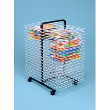 40 Shelf Mobile A2 Art Dryer