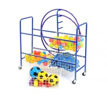 Four Basket Trolley