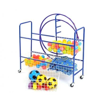 Four Basket Trolley