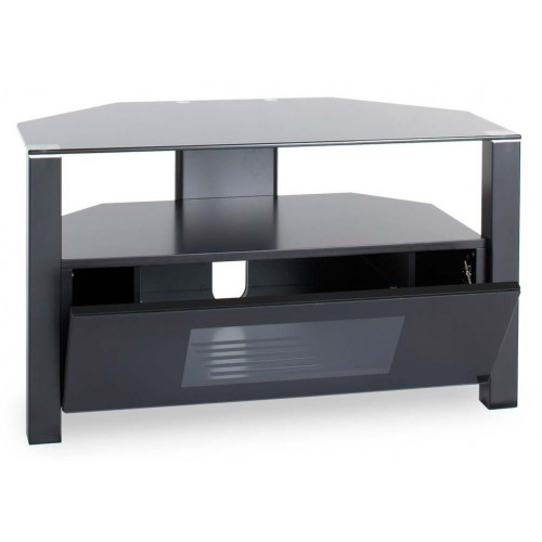 Ambri D-shaped 800mm Wide TV Stand With Cabinet