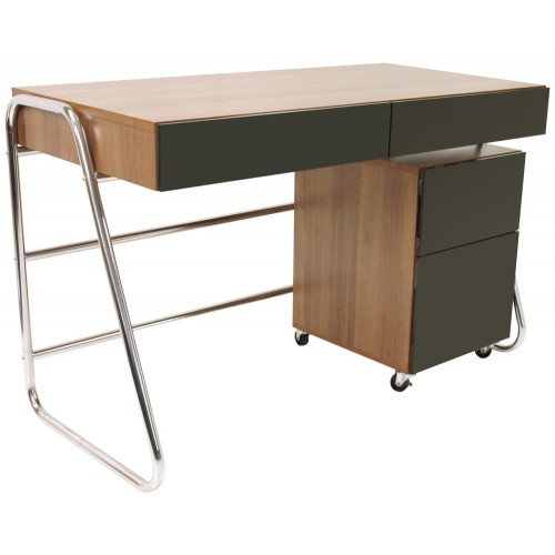 2 Drawer Computer Desk - Juo