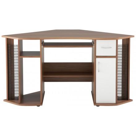 Dual Pedestal Corner Computer Workstation - Lyndon