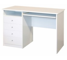Single Pedestal Laptop Desk - Marymount