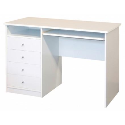 Single Pedestal Laptop Desk - Marymount