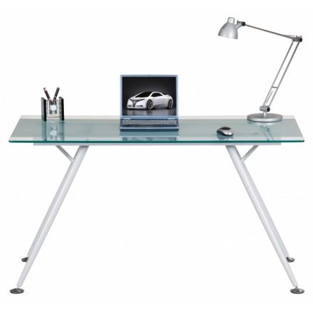 Glass Top Laptop Desk - Springfield