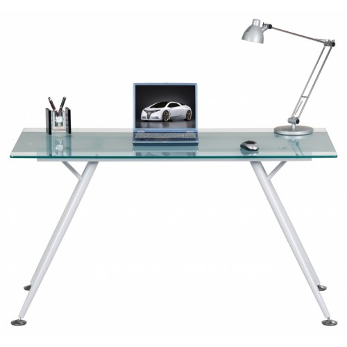 Glass Top Laptop Desk - Springfield
