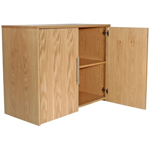 Oakwood Wide Cupboard