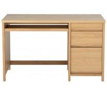 Single Pedestal Computer Desk - Hunter