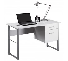 Single Pedestal Computer Desk - Cabrini