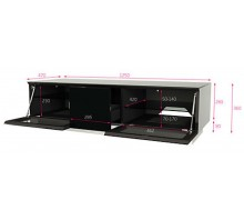 Element Modular 1250mm Wide TV Stand