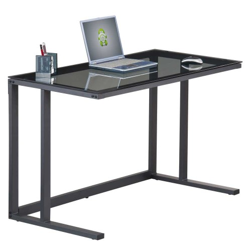 Glass Top Laptop Desk - Air