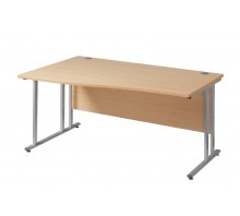 Wave 25 GL C Frame Desks
