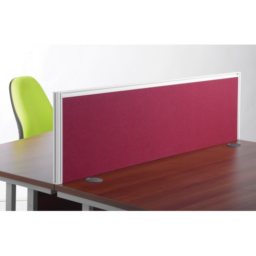 Fabric Deluxe Desk Screen with Frame