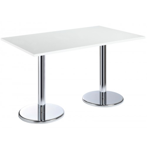 Pisa Rectangular Table With Trumpet Base