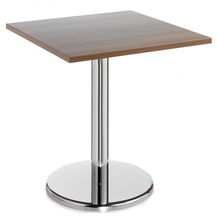 Pisa Square Table With Trumpet Base