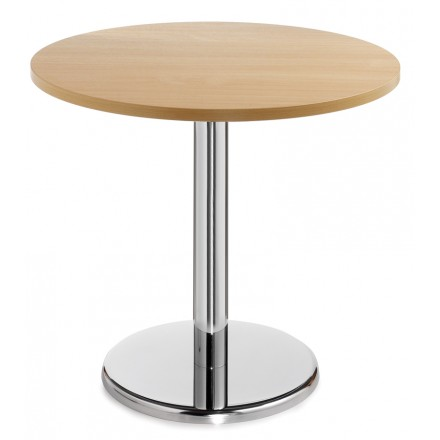 Pisa Circular Table With Trumpet Base