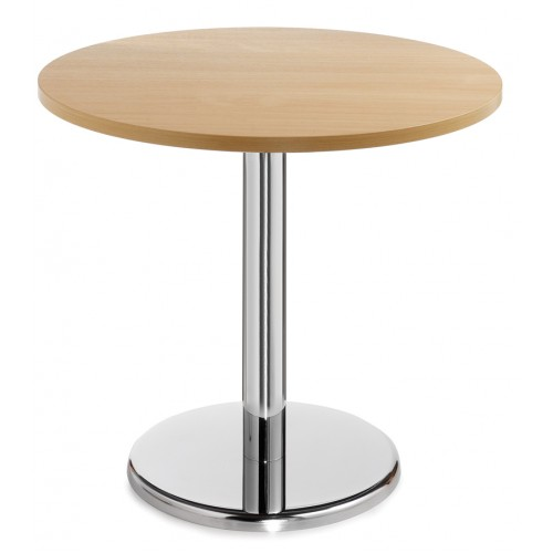Pisa Circular Table With Trumpet Base