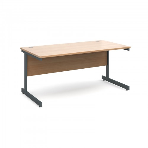 Straight Cantilever Desk