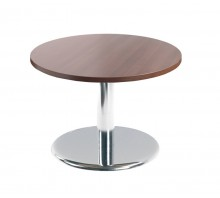 Pisa Circular Coffee Table With Trumpet Base