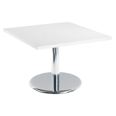 Pisa Square Coffee Table With Trumpet Base