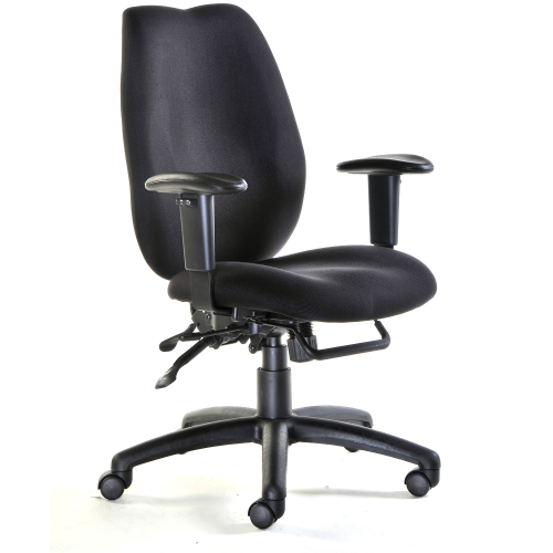 Cornwall High Back Fabric Office Chair
