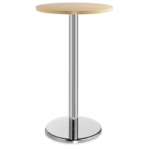 Pisa Circular Poser Table With Round Base