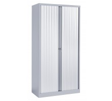 Medium Steel Tambour Cupboard