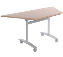 Trapezoidal Flip-Top Table