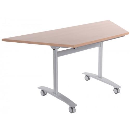 Trapezoidal Flip-Top Table