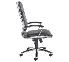 Florence High Back Executive Leather Chair With Arms