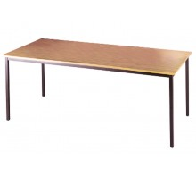 Graphite or Silver Leg Rectangular Tables