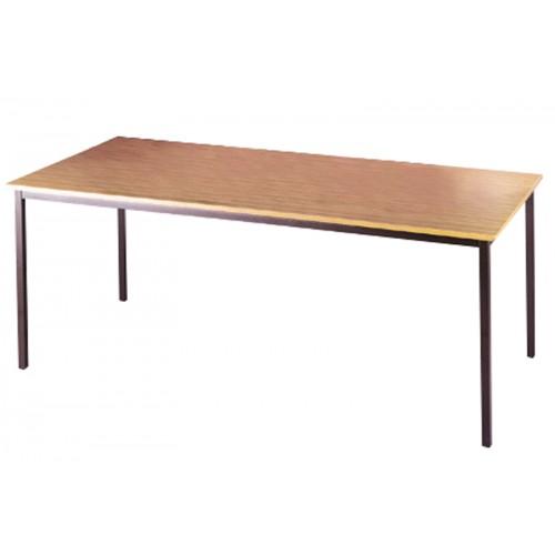 Graphite or Silver Leg Rectangular Tables