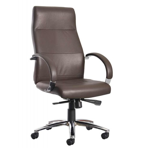 Indiana High Back Executive Leather Chair