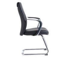 Limoges Cantilever Visitor Chair with Arms