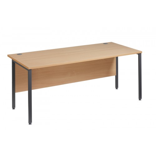 Straight 25 GL H Frame Desk