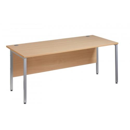 Straight 25 xL H Frame Desk