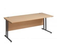 Straight 25 GL C Frame Desk