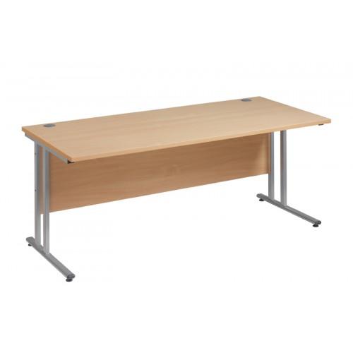 Straight 25 xL C Frame Desk