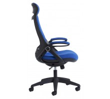 Tuscan Fabric Managers Chair with Head Support