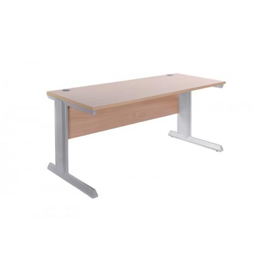 Vivo II Shallow Straight Desk