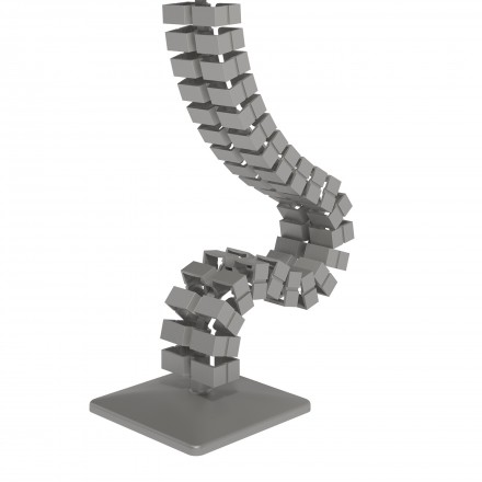 Addit cable worm sit-stand