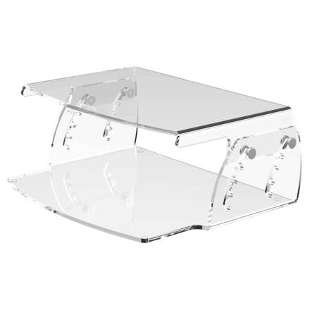 Height Adjustable Acrylic Monitor Stand 550